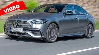 So fährt die neue Mercedes C-Klasse