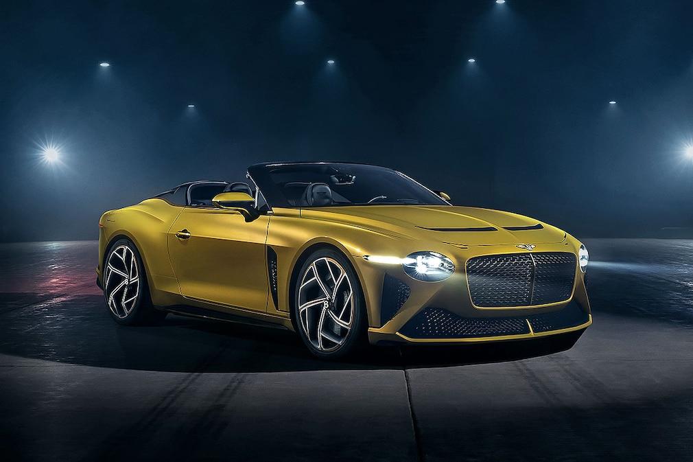 Bentley Mulliner Bacalar       !! Sperrfrist 03. März 2020 08.30 Uhr !!