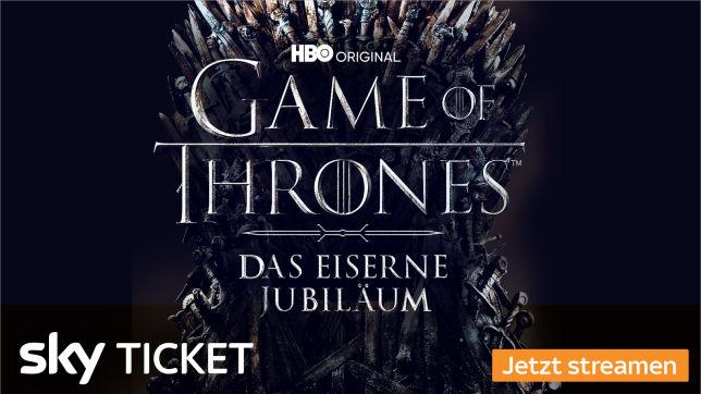 Angebot: Alle Staffeln GoT mit Sky Ticket