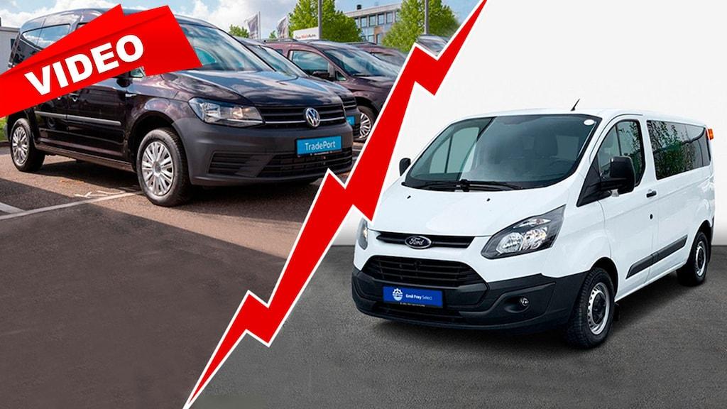Gebrauchtwagen-Battle: Caddy vs. Transit