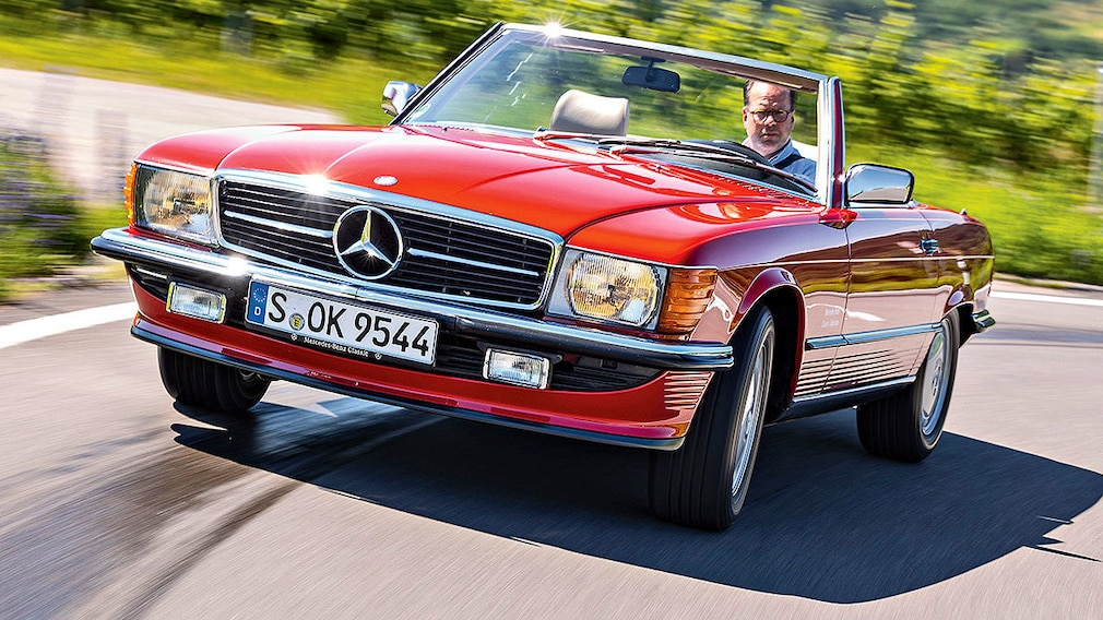 Mercedes 300 SL (R 107) Bj.1988