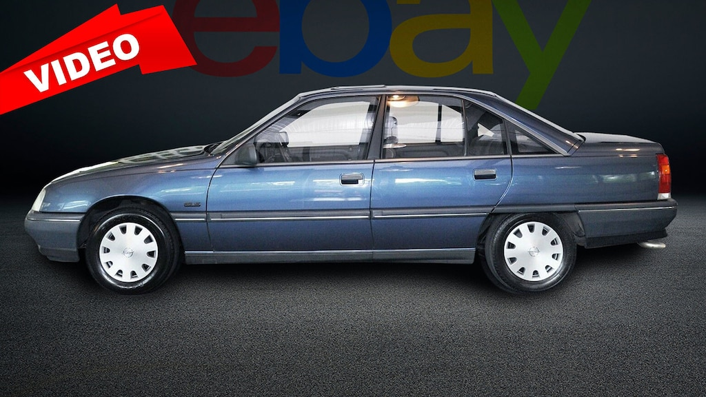 Opel Omega im Originalzustand zu verkaufen