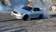 Mercedes C 63 AMG: Drift-Fail