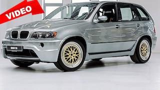 Der BMW X5 Le Mans schöpft 700 PS aus seinem V12-Motor
