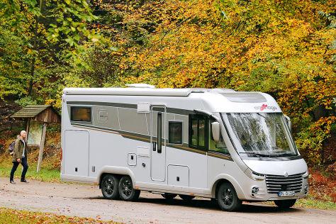 Carthago chic e-line I 50 LE DA: Wohnmobil-Test - autobild.de