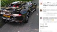 Bugatti Chiron (2021): Crash