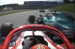Vettel nach Last-Minute-Crash: �Keine Absicht�