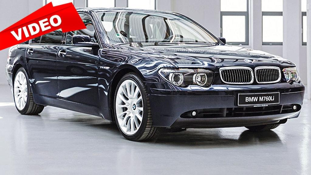 BMW 7er mit V12 und 445 PS