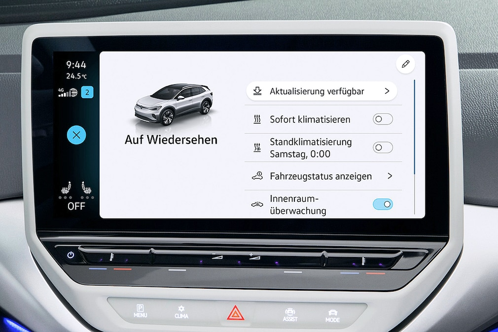 VW ID.3 Over-the-Air Update