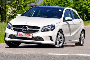 Mercedes mit Aha-Effekt