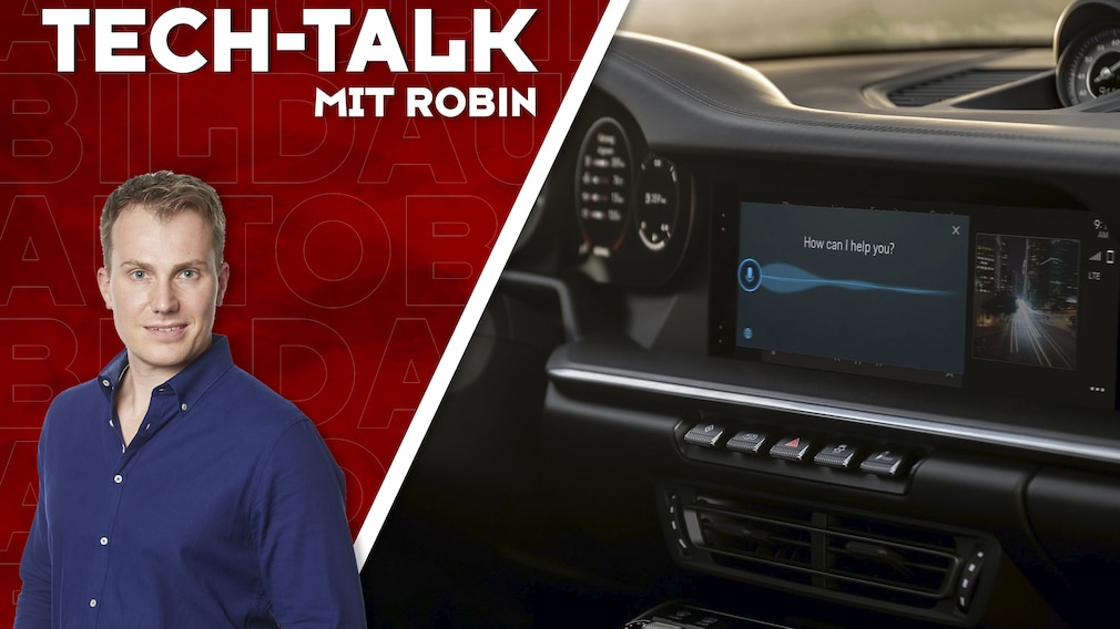 Aufmacher Tech-Talk mit Robin  Porsche-Infotainmentsystem