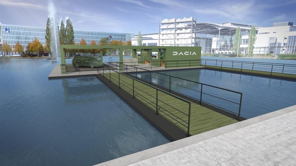 Dacia Weltpremiere auf der IAA Mobility 2021 in München