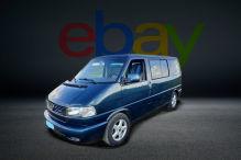 Topgepflegter VW T4 mit Bett bei eBay