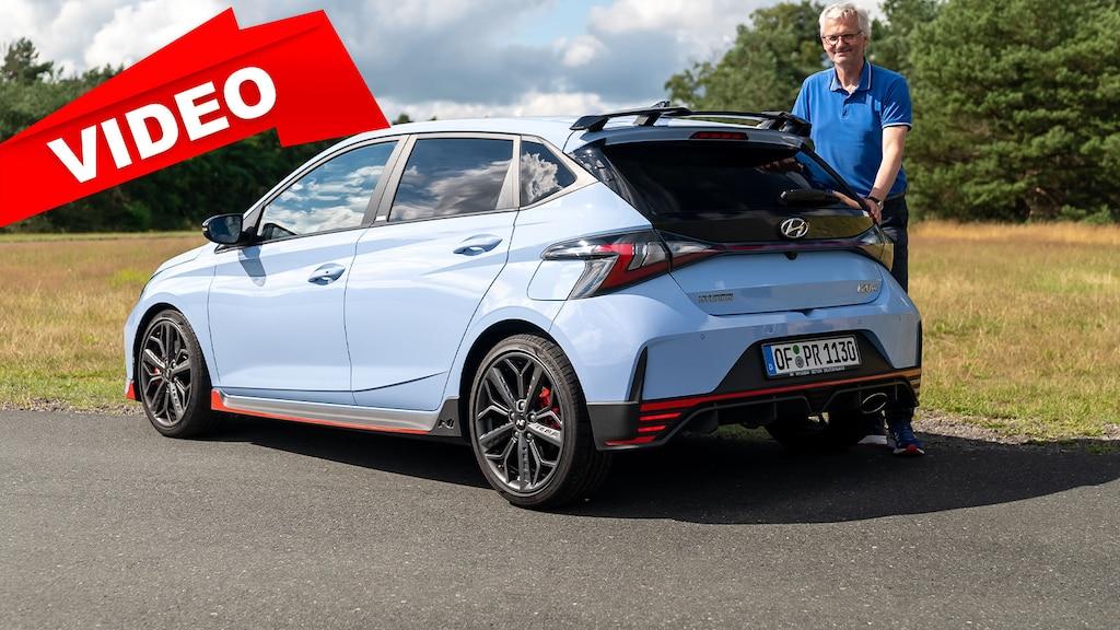 Der Test mit dem neuen Hyundai i20 N auf der Rennstrecke