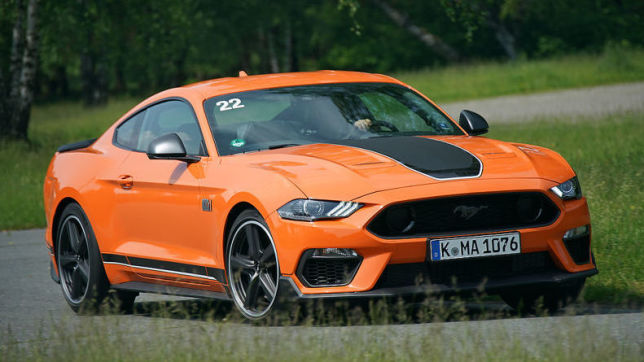 Ford Mustang Mach 1: Fahrbericht