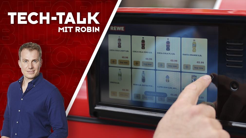 Aufmacher Tech-Talk mit Robin  Selbstfahrender Kiosk