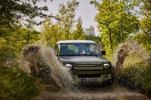 Extrem-Test mit AUTO BILD und Land Rover