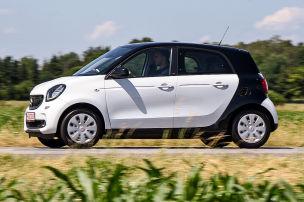 Smart Forfour: Gebrauchtwagen-Test
