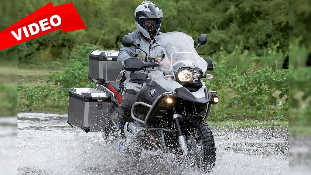 Mit dem Motorrad durchs Gelände