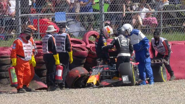 Formel 1: Verstappen, Hamilton, Crash