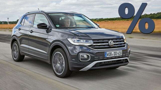 VW T-Cross (2021): Rabatt