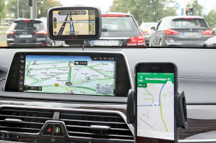 Navigationssysteme: Vergleich