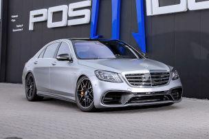 Mercedes-AMG S 63 mit irren 940 PS