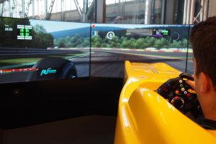 Fahren wie ein Formel-1-Pilot