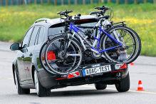 Fahrrad-Heckträger im ADAC-Test