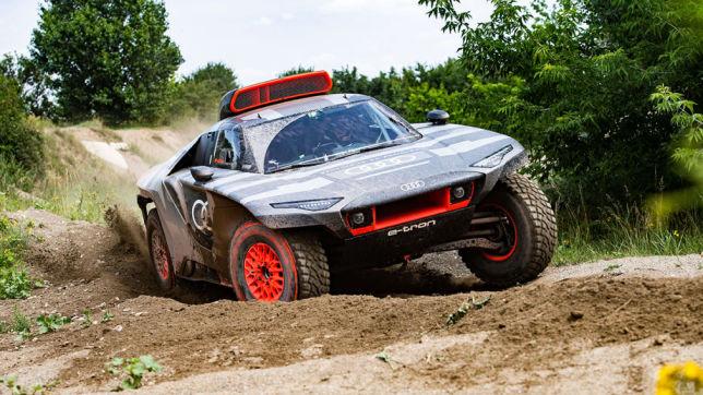 Rallye Dakar: Audi RS Q e-Tron