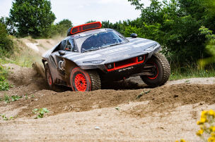 Audi mit Antriebsrevolution in der W�ste