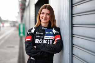 Lokalmatadorin: �Will schnellste Frau der DTM sein�