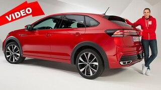 Das ist der T-Cross als Coupé-SUV - der VW Taigo