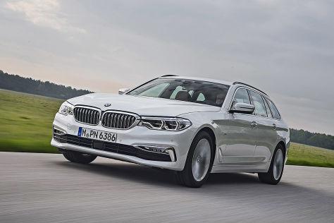 BMW 520d Touring  !!! SPERRFRIST  10. Mai 2017   00:01 Uhr !!!