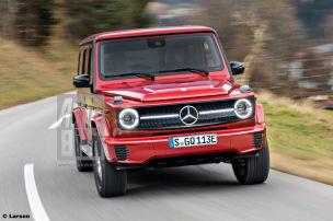 Mercedes EQG: G-Klasse mit E-Antrieb
