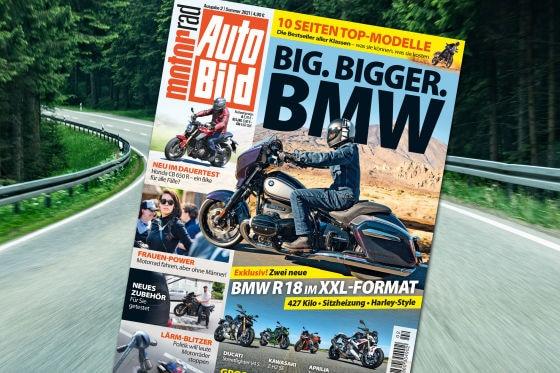 Titel AUTO BILD Motorrad 02-2021