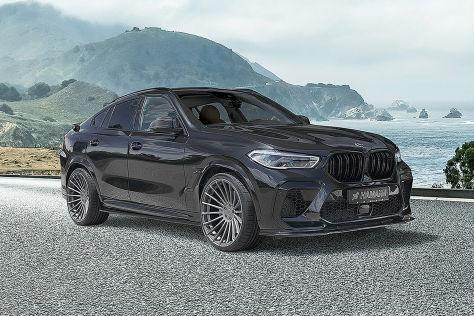 BMW X6 M Competition Tuning: Zartes Bodykit von Hamann - autobild.de