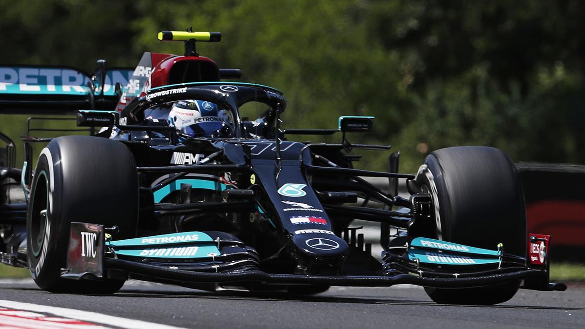Formel 1: Ungarn GP, 2. Training: Hitze bringt Mercedes nach vorn