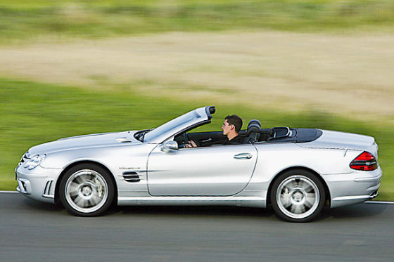 Mercedes-Benz SL-Klasse SL 55 AMG