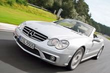 Der Mercedes SL 55 AMG der Baureihe R230 ist eine Naturgewalt