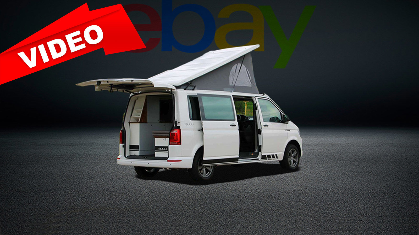VW T6 2.0 TDI Camper (2017): eBay - Bulli - California ...