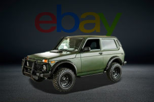 Lada Niva im Mad Max-Style zu verkaufen