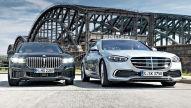 BMW 7er, Mercedes S-Klasse: Test