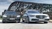 BMW 740d xDRIVE        Mercedes S-Klasse 400 d 4MATIC