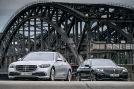 Mercedes S-Klasse 400 d 4MATIC          BMW 740d xDRIVE