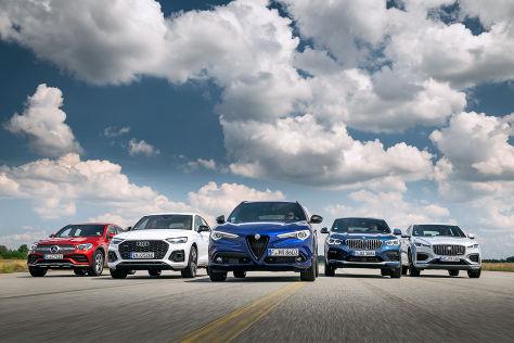 Fünf schicke SUVs mit Diesel: Test, Motor, Preis - autobild.de