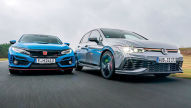 Civic Type R, VW Golf GTI Clubsport: Test