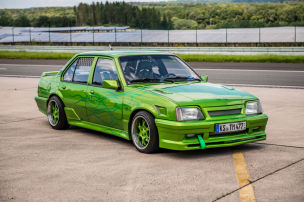 Custom-Opel mit Airbrush und GSi-Motor