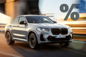 Beim BMW X4 bis zu 11.628 Euro sparen