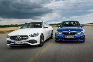 Mercedes C 300 vs. BMW 330i: Test